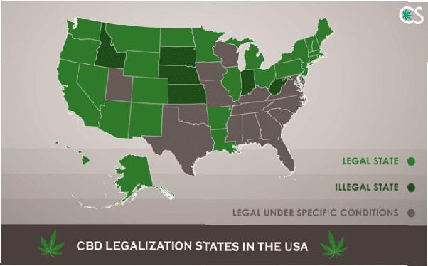 Legalización por estado